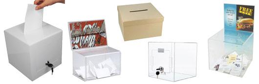 Box til konkurrencer, afstemninger,, indsamlinger og lignede